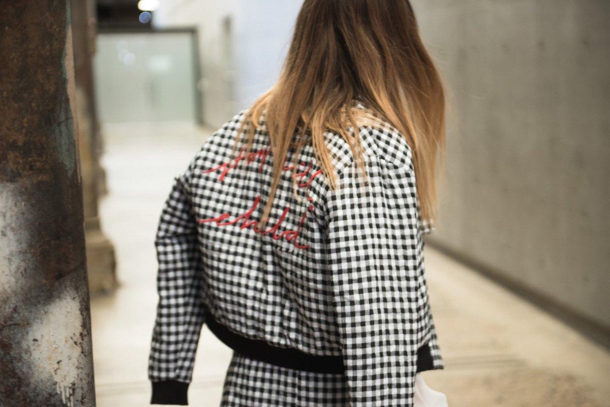 Gingham fall fashion
