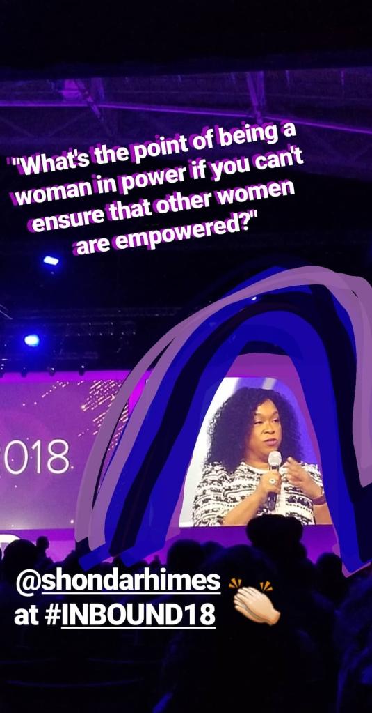 Shonda Rhimes on Empowering Women