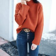 Tucked sweater via thehouseofsequins